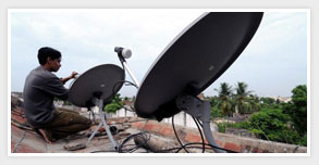 DTH Set Top Box Installation